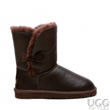 UGG Australia Bailey Button Metallic Chocolate
