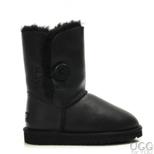 UGG Australia Bailey Button Bomber Black
