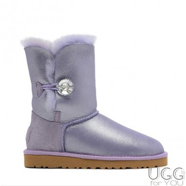 UGG Australia Bailey Button I DO! Purple