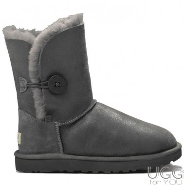 UGG Australia Bailey Button Metallic Grey