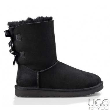 UGG Australia Bailey Bow Black