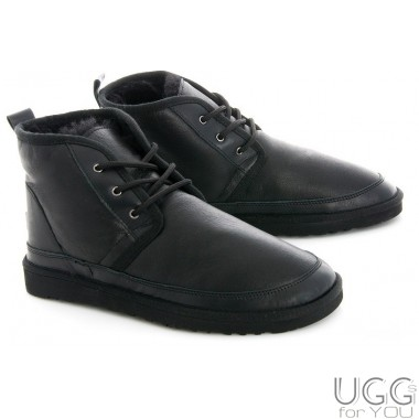 Forester Mini Boots Leather Black (Men)