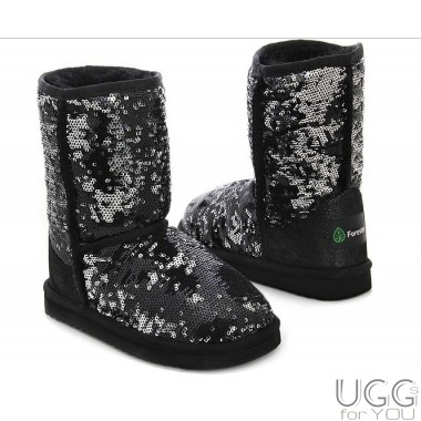 Forester Kids Sequins Black