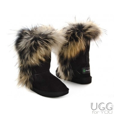 Forester Kids Fur Black