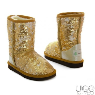 Forester Kids Sequins Gold