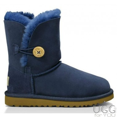 UGG Australia Kids Bailey Button Blue