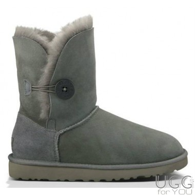 UGG Australia Kids Bailey Button Grey