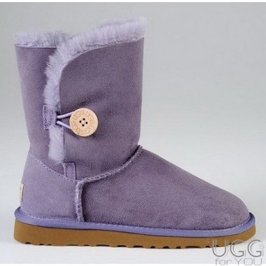 UGG Australia Kids Bailey Button Lavender