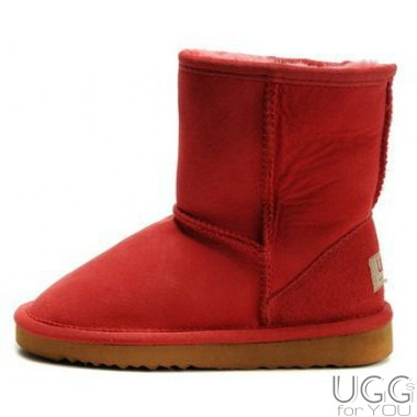 UGG Australia Kids Classic Short Red