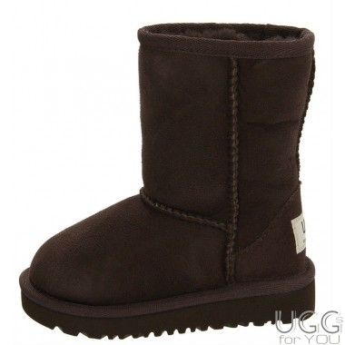 UGG Australia Kids Classic Short Chocolate