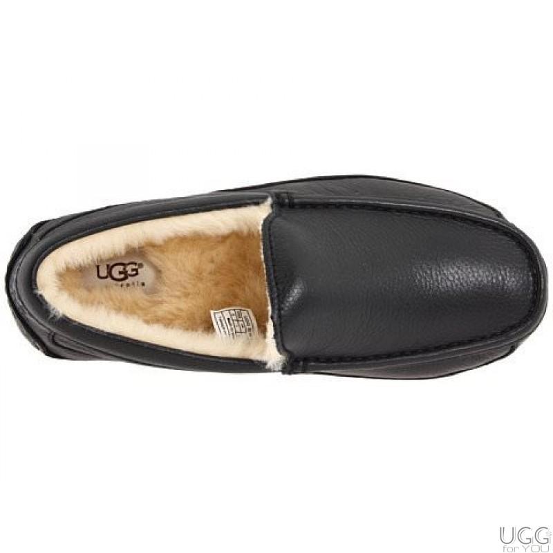 М�ж�кие мока�ин� ugg australia ascot slippers leather