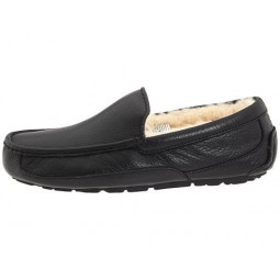 UGG Australia Ascot Slippers Leather Black