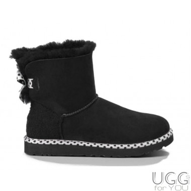 UGG Australia Mini Bailey Bow 78 Black