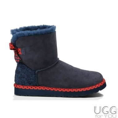 UGG Australia Mini Bailey Bow 78 Navy