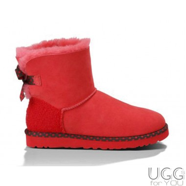 UGG Australia Mini Bailey Bow 78 Red